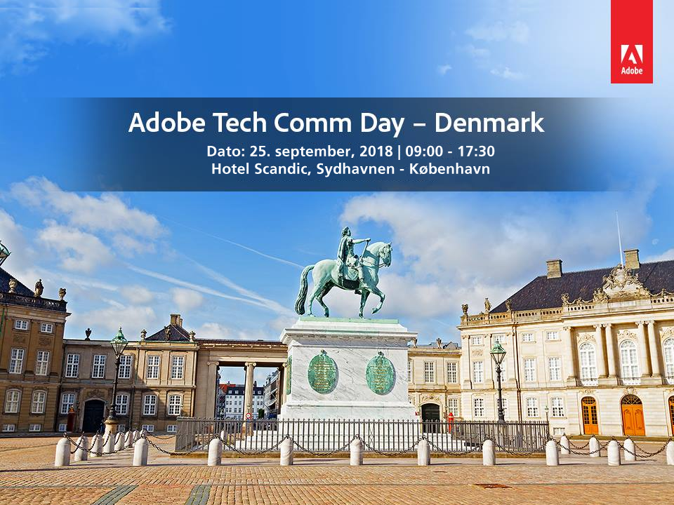 Adobe TechComm Day Denmark 2018